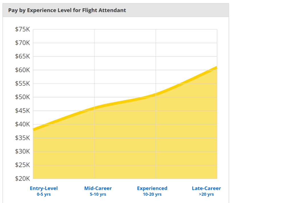 Flight Attendant Pay and Job Experience