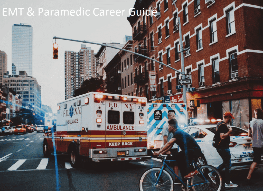 Career Guide for EMT and Paramedic Specialists