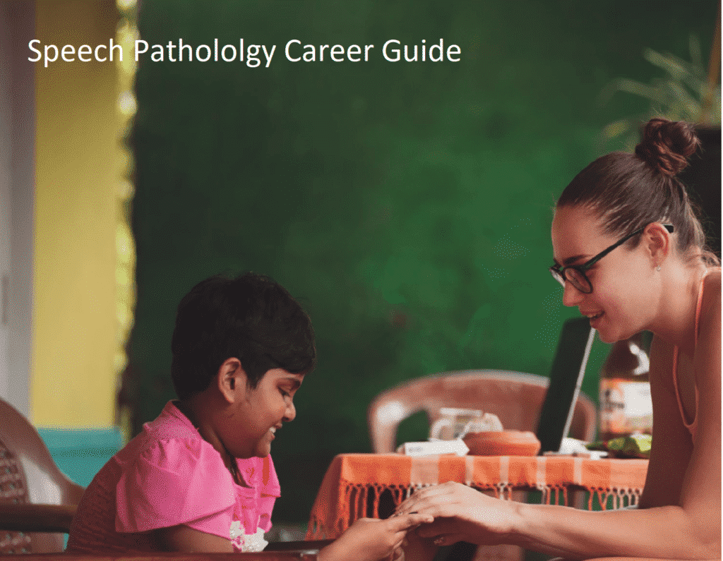 Career Guide in Speech Pathology