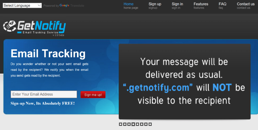 Use GetNotify to Find out When Emails are Read by Recipients